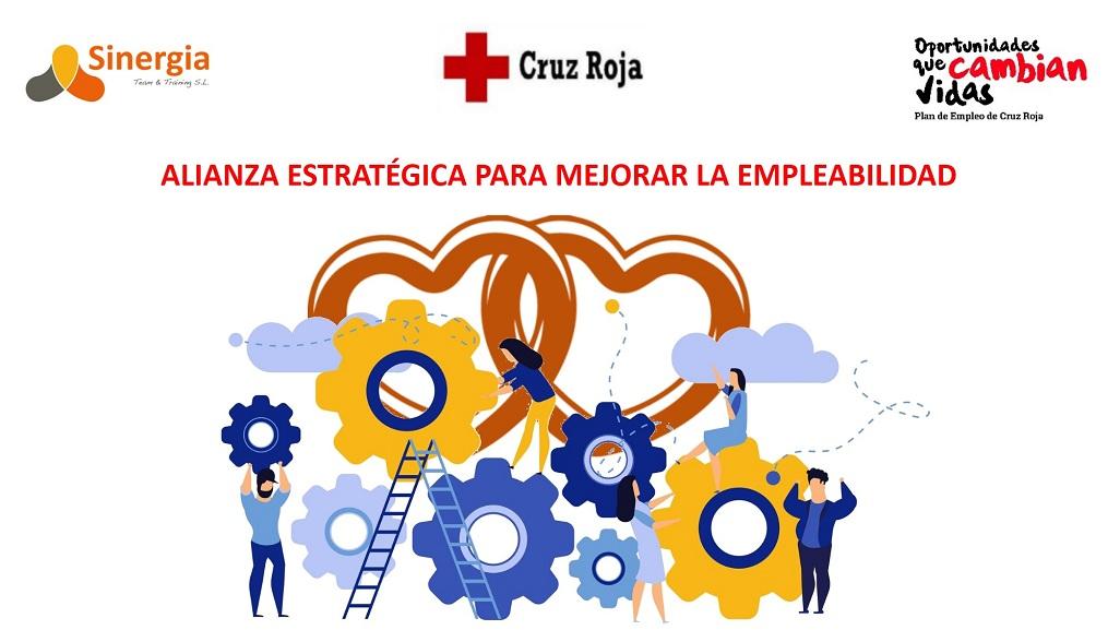 Convenio Cruz Roja Barcelona y Sinergia